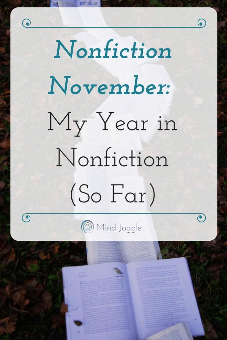 Nonfiction November: My Year in Nonfiction So Far