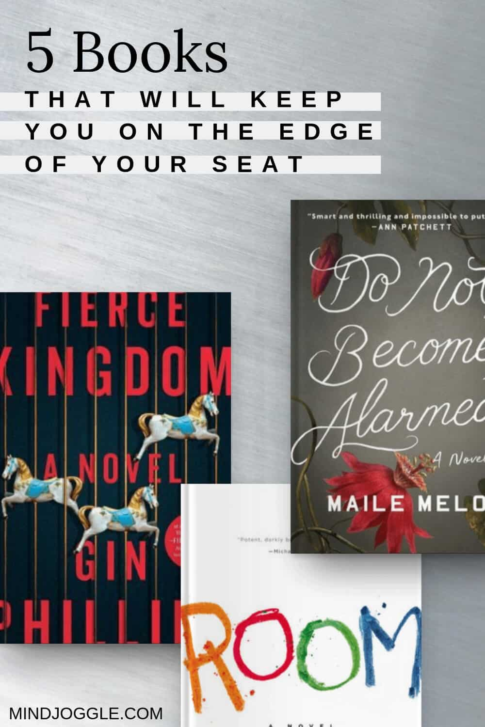 5 Thrilling Books that Will Keep You on the Edge of Your Seat