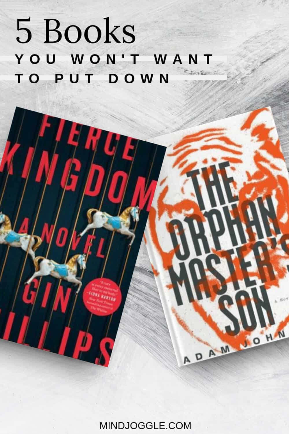 5 Thrilling Books You Won't Be Able to Put Down