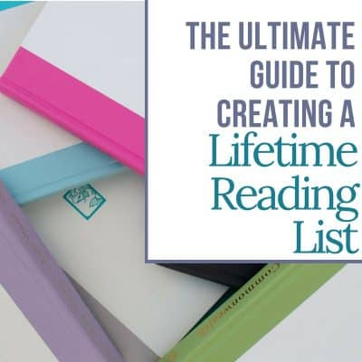 The ultimate guide to creating a lifetime reading list. | MindJoggle.com
