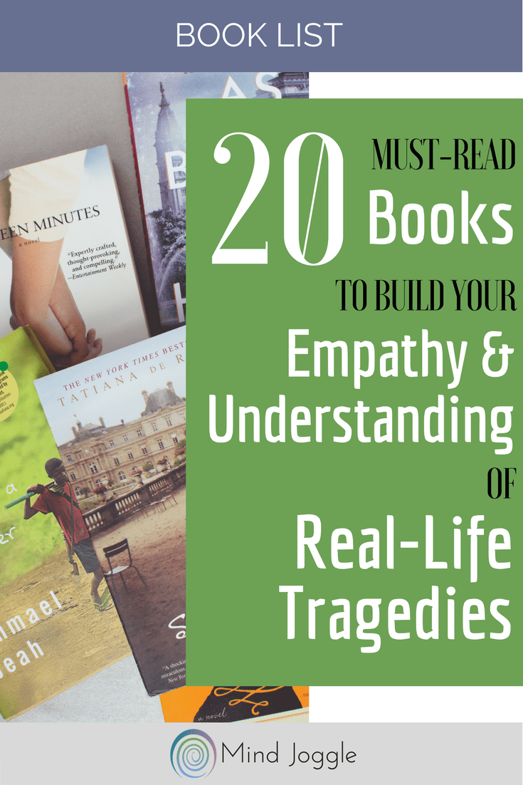 20 books about tragedy to make you a better person and increase your empathy and understanding. | MindJoggle.com