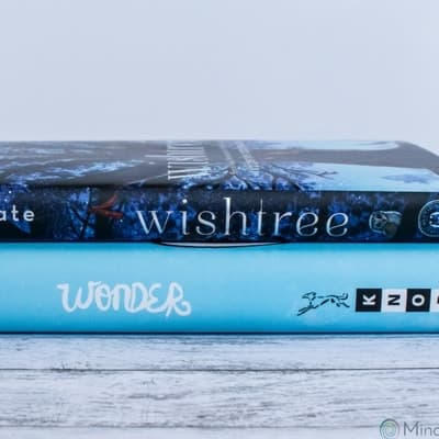 Photo of Wishtree and Wonder novels.