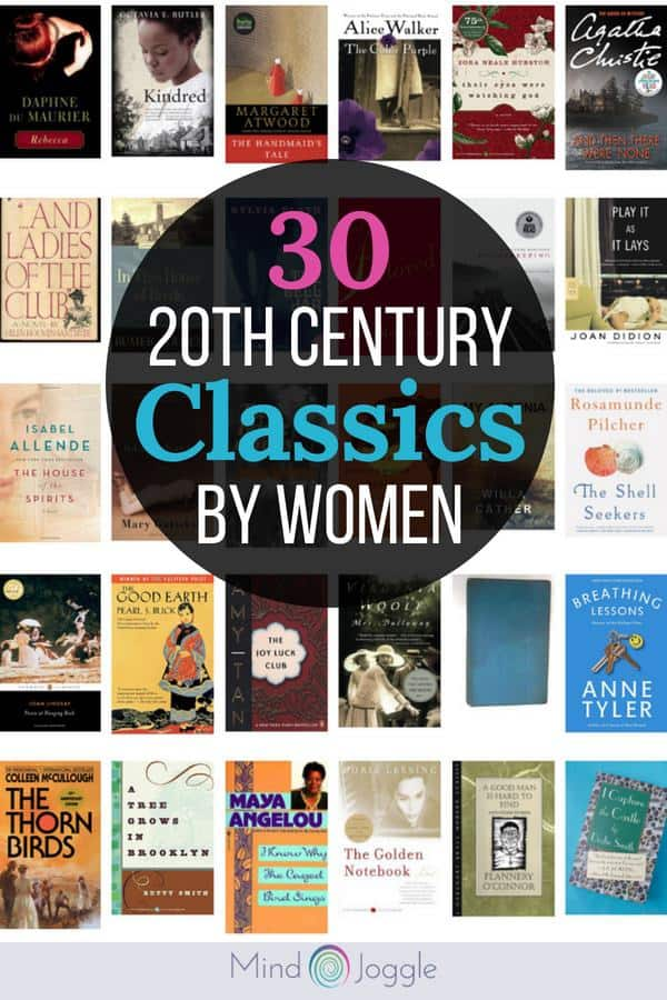 30 20th Century Classic Books by Women | MindJoggle.com