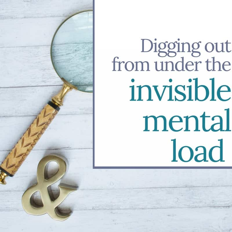 Digging Out from the Mental Load | MindJoggle.com