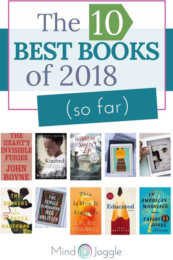 The 10 Best Books of 2018 So Far. | MindJoggle.com
