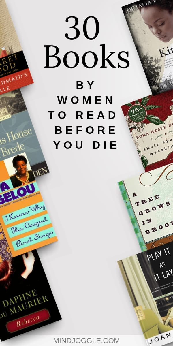 30 Books by Women to Read Before You Die