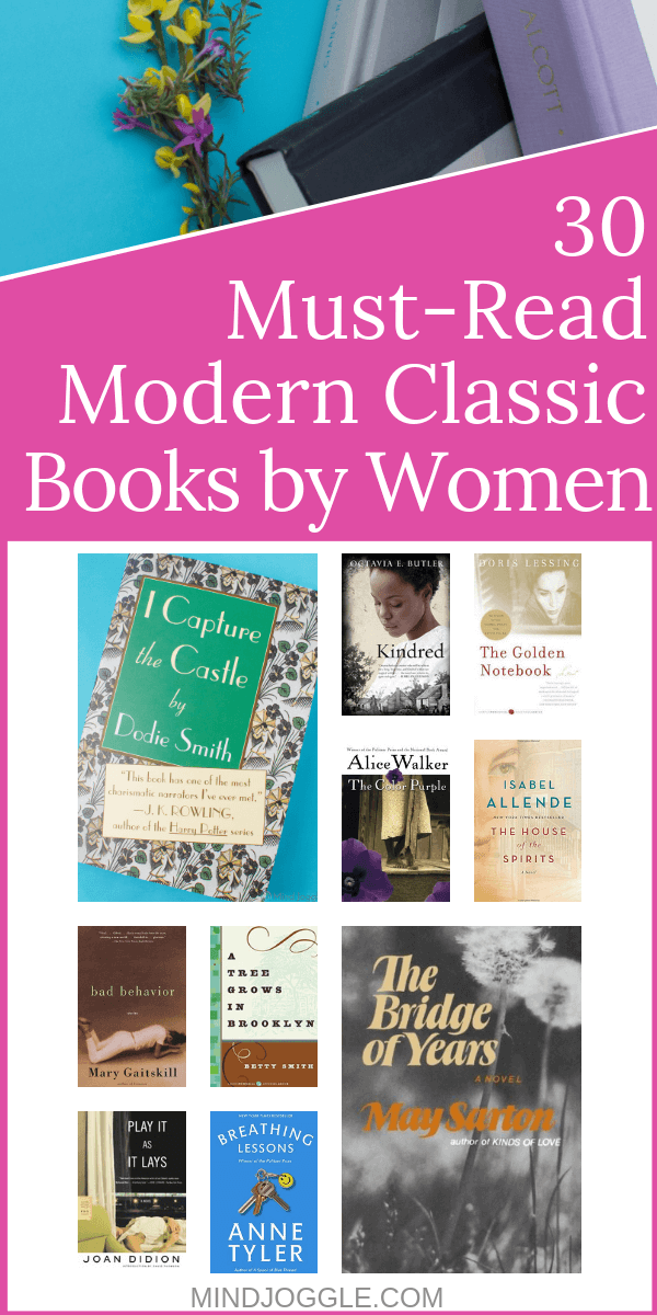 30 Must-Read Modern Classic Books by Women. A list of 30 classic novels written by female authors in the 20th century.