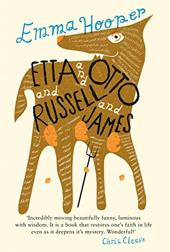 Etta and Otto and Russell and James, a book about an elderly woman taking a long journey and the two men who love her.