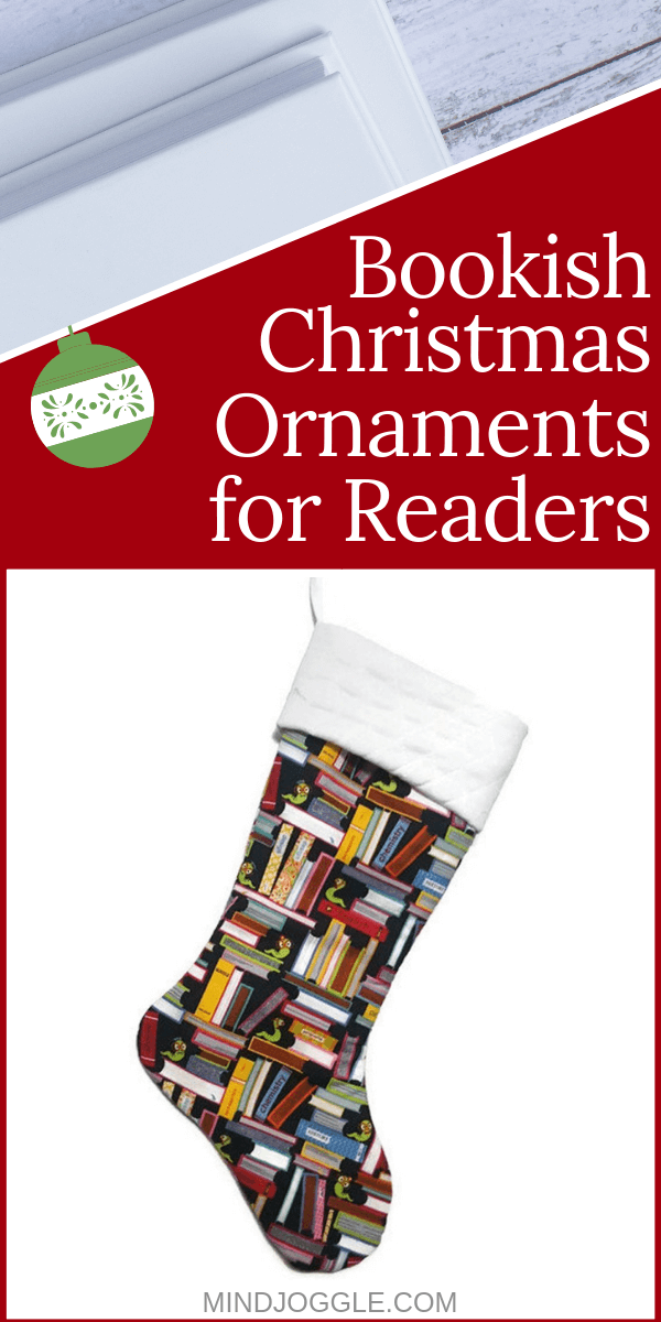 Book Christmas Ornaments and Decorations for Readers