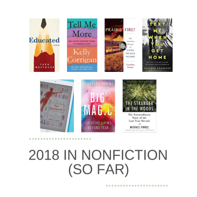 2018 in Nonfiction (So Far)