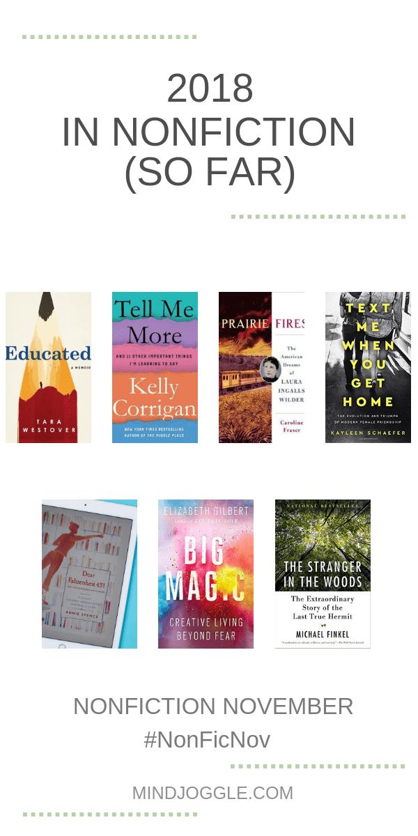 2018 in Nonfiction (So Far)