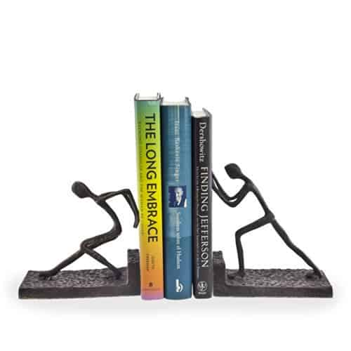 Iron Bookend Set
