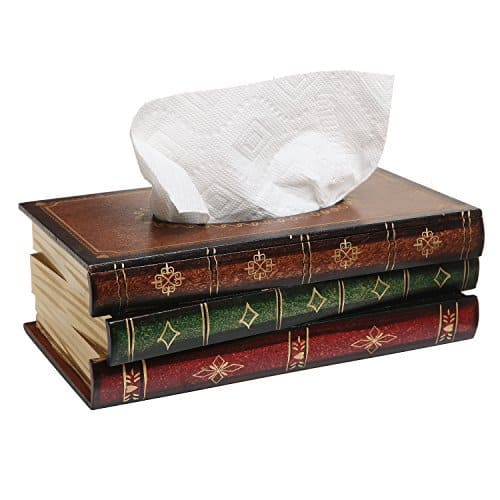 Book Tissue Dispenser