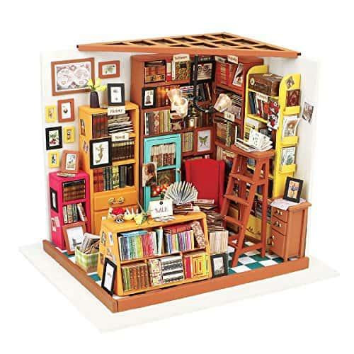 Miniature DIY Library Kit