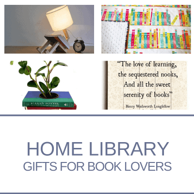 Home Library Gifts for book Lovers