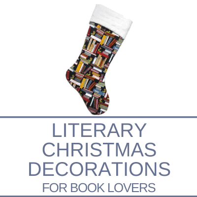 Literary Christmas Decorations for Book Lovers