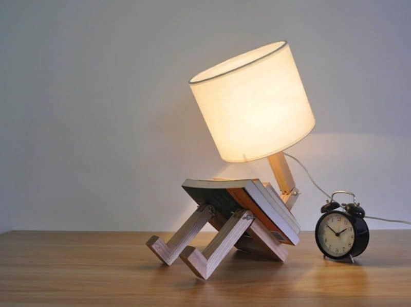 Sitting Reading Lamp