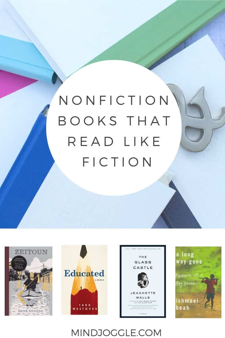 The Best Memoirs, Creative, and Narrative Nonfiction Books that Read Like Fiction