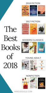 The best books of 2018. New fiction including The Great Believers, Us Against You, and Where the Crawdads Sing, plus modern classics, recent fiction, young adult, and nonfiction.