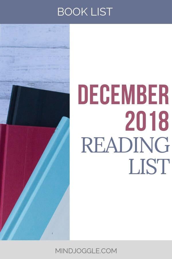 December 2018 Reading List