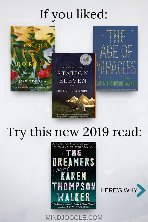 If you liked Into the Forest, Station Eleven, and The Age of Miracles, try The Dreamers by Karen Thompson Walker