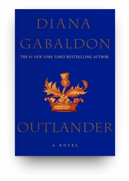 Outlander by Diana Gabaldon, a big book worth reading
