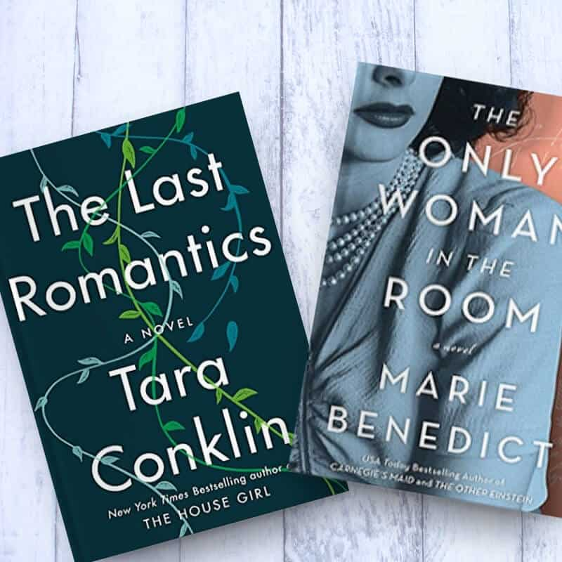 January 2019 reading list, including The Only Woman in the Room, Winter Stroll, The Last Romantics, The Familiars, and My Flag Grew Stars.