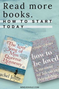 Read more books: how to start today.