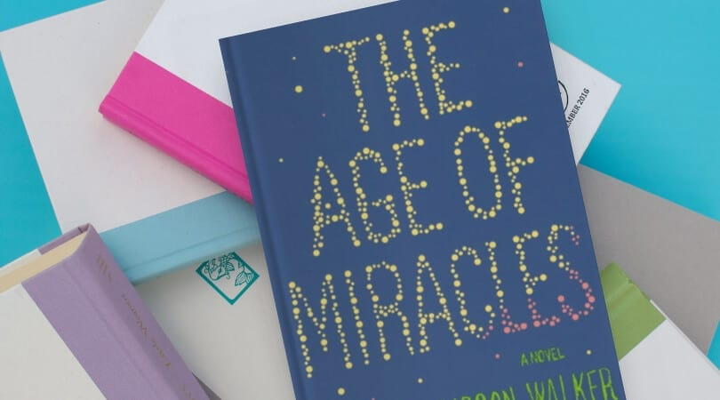 The Age of Miracles is a young adult novel that many adult readers loved. It might be a good option for an audiobook.
