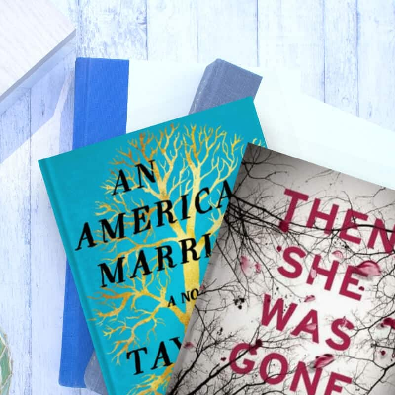 An American Marriage and Then She Was Gone, two books that might help beginner readers start a reading and book habit.