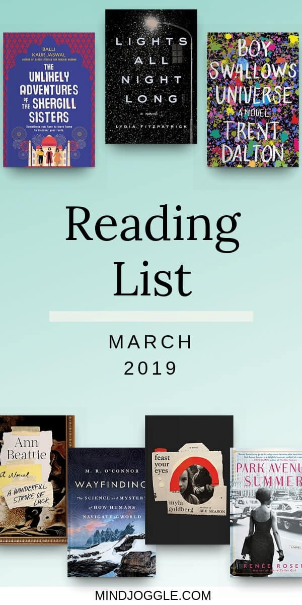 March 2019 Reading List