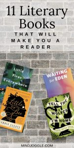 11 Literary Books That Will Make You a Reader