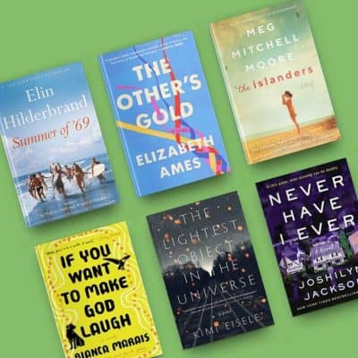 Book reviews, August 2019, including Summer of '69, The Other's Gold, The Islanders, If You Want to Make God Laugh, The Lightest Object in the Universe, and Never Have I Ever.