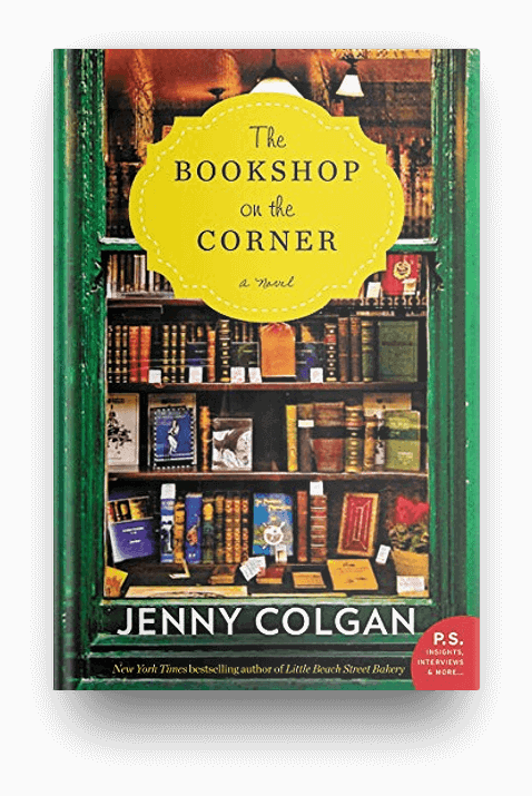 The Bookshop on the Corner by Jenny Colgan, perfect for readers who love books about books