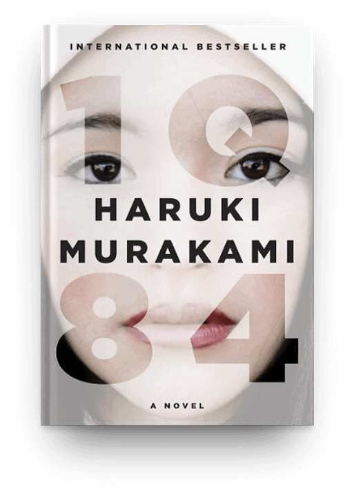 1Q84 by Haruki Murakami, a book book about an alternate universe that's worth reading