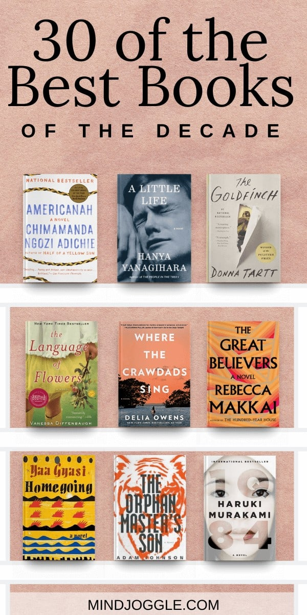 30 of the Best Books of the Decade