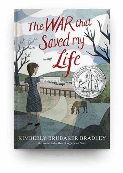 The War that Saved My Life by Kimberly Brubaker Bradley, one of the best historical fiction novels for your reading bucket list