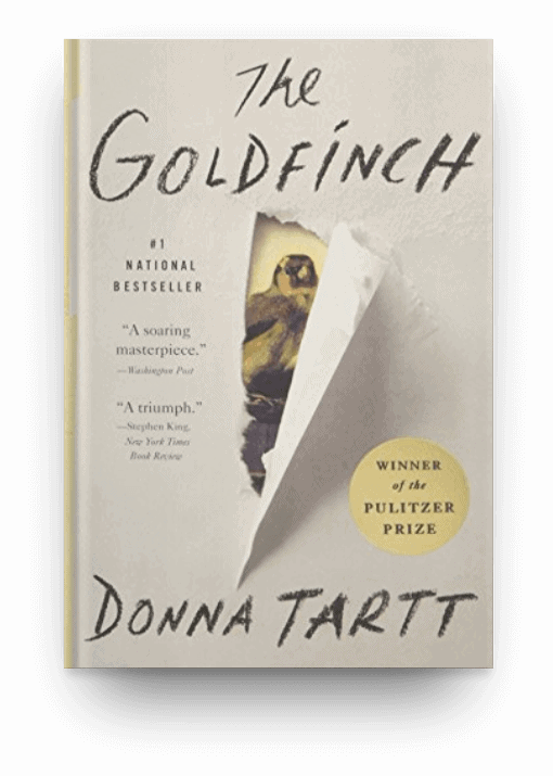 The Goldfinch by Donna Tartt, a thick book everyone should read