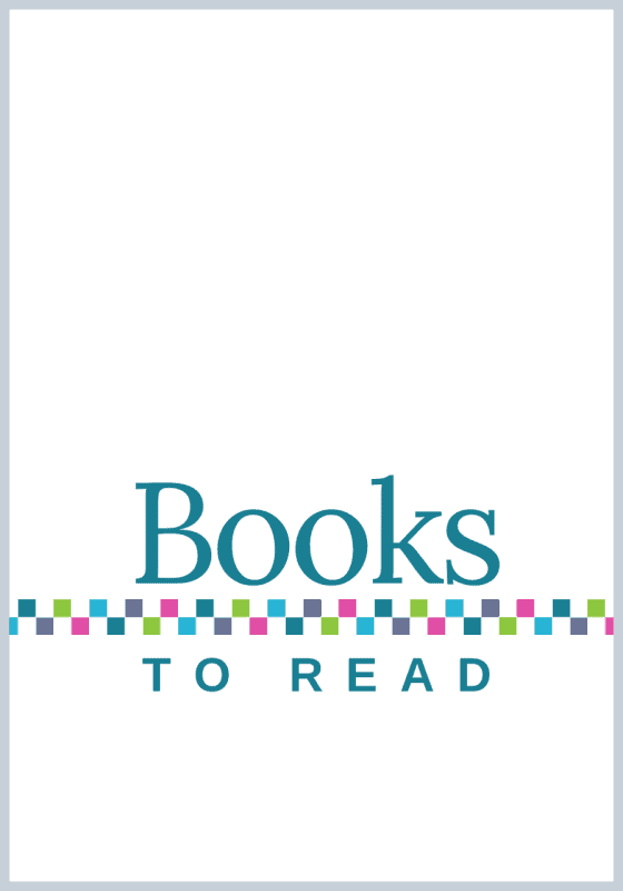 Books to Read: A Journal to Track Your TBR