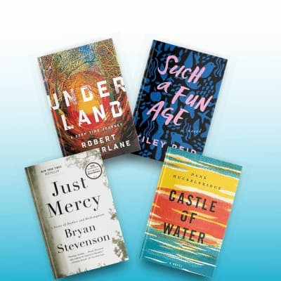 Book reviews for January 2020, including Underland, Just Mercy, Such a Fun Age, and Castle of Water.