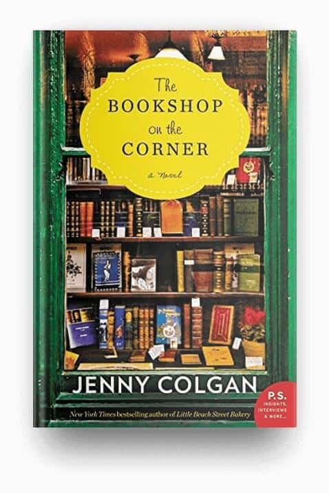 The Bookshop on the Corner by Jenny Colgan, a cozy, feel-good book