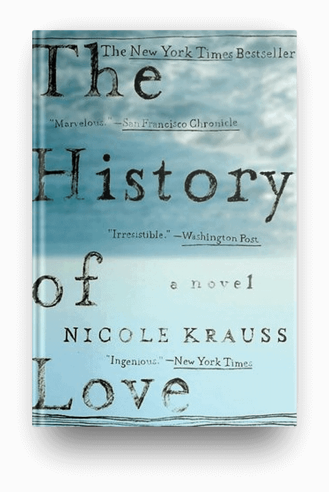 The History of Love by Nicole Krauss, a literary book about a book