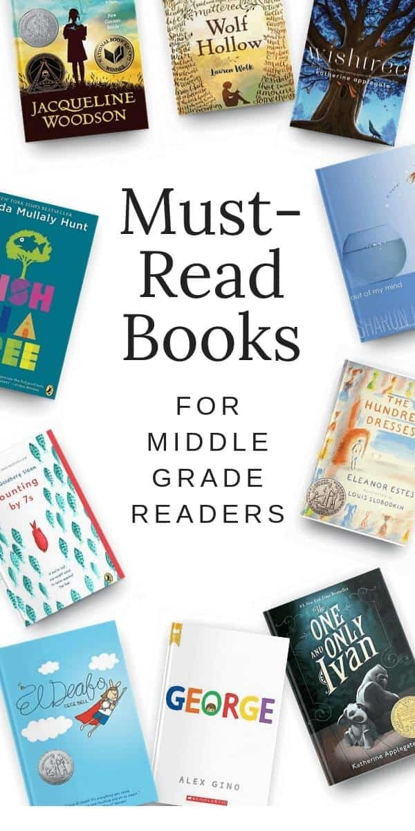 Must-Read Books for Middle Grade Readers
