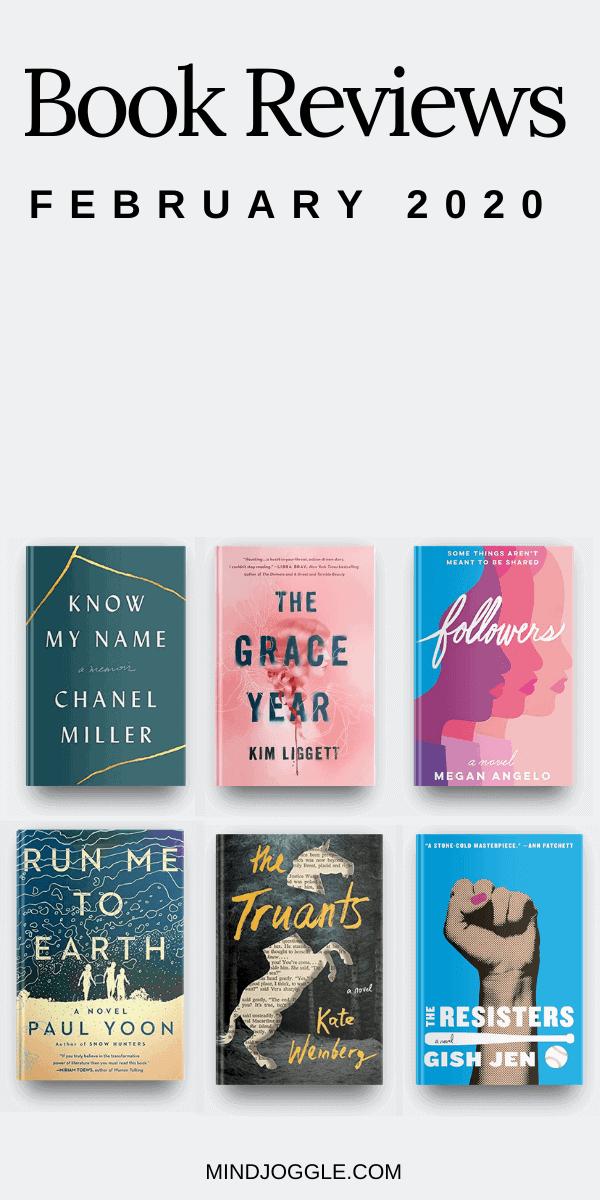 February 2020 book reviews