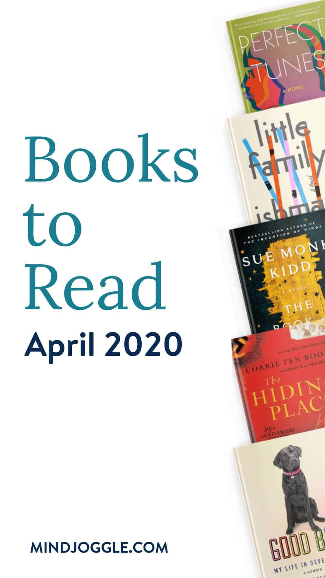 Books to read in April 2020