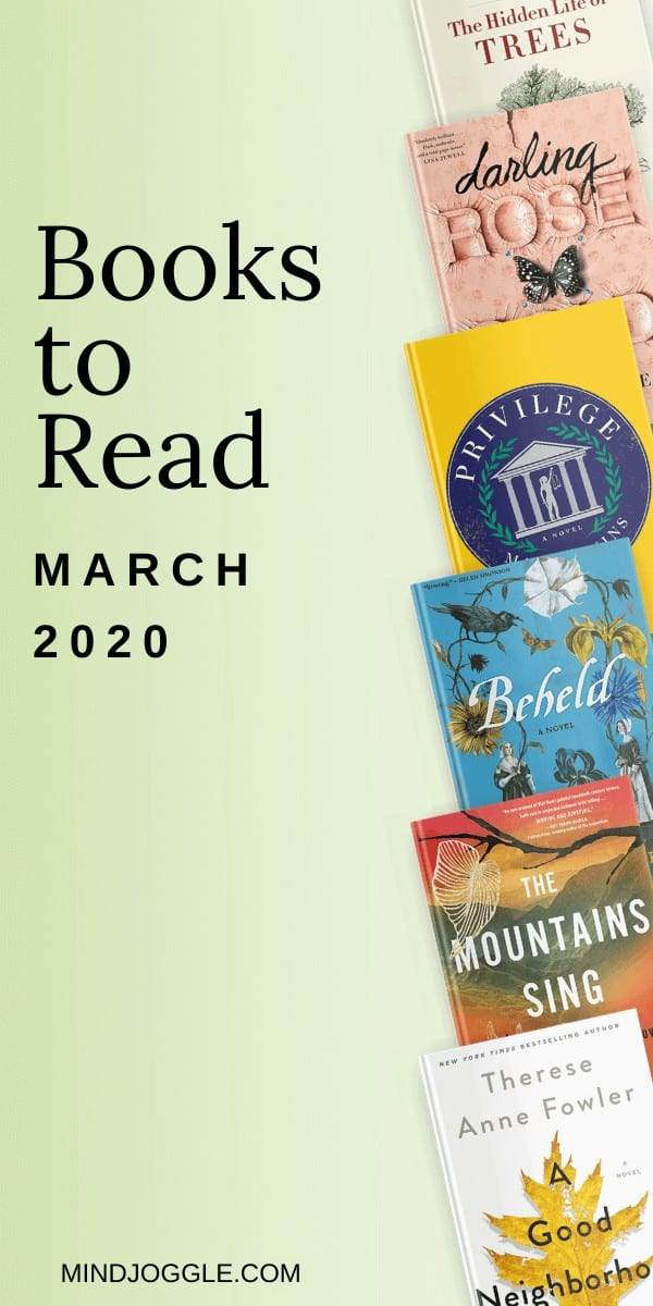 March 2020 books to read