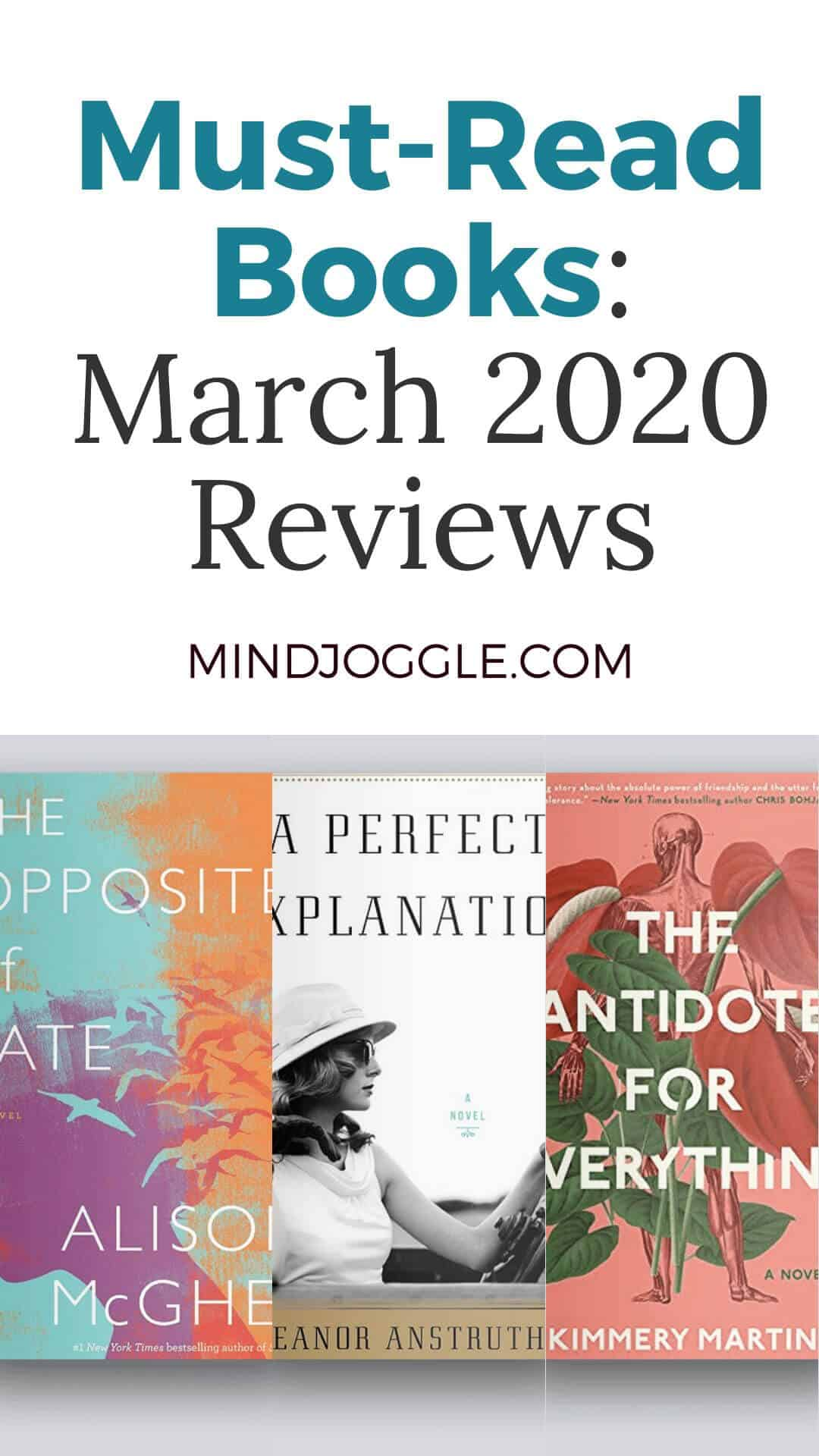 Must-Read Books: March 2020 Reviews