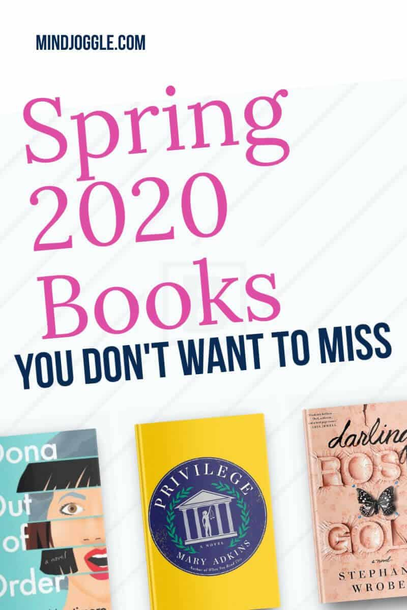 Spring 2020 Books You Don't Want to Miss