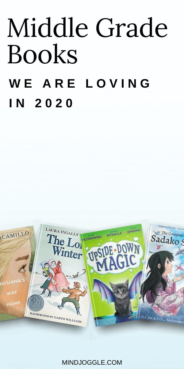 Middle grade books we are loving in 2020