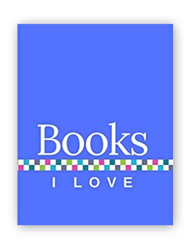 Books I Love - Blue